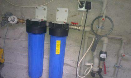 Filtrare sedimente cu filtre model Big Blue 20″